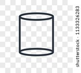 cylinder vector icon isolated... | Shutterstock .eps vector #1133326283