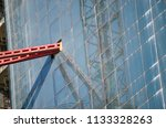 construction and winch | Shutterstock . vector #1133328263