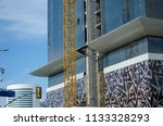 construction and winch | Shutterstock . vector #1133328293