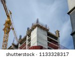 construction and winch | Shutterstock . vector #1133328317