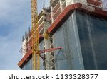 construction and winch | Shutterstock . vector #1133328377