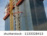 construction and winch | Shutterstock . vector #1133328413