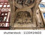 rouen france   5 june 2018 ... | Shutterstock . vector #1133414603