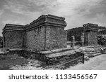 the tulum ruins in the riviera...   Shutterstock . vector #1133456567