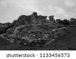 the tulum ruins in the riviera...   Shutterstock . vector #1133456573