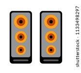 music sound icon   bass... | Shutterstock .eps vector #1133498297