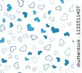 light blue vector seamless... | Shutterstock .eps vector #1133511407