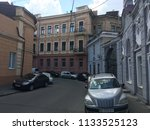 old building street...   Shutterstock . vector #1133525123