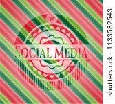 social media christmas colors... | Shutterstock .eps vector #1133582543