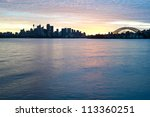 This image shows the Sydney Australia Skyline - stock photo