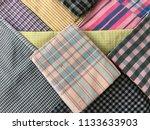 traditional fabrics local hand...   Shutterstock . vector #1133633903