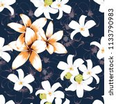 seamless pattern white and... | Shutterstock .eps vector #1133790983