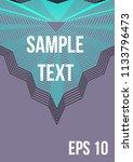 minimum geometric coverage.... | Shutterstock .eps vector #1133796473