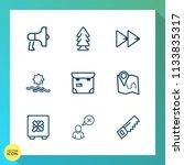 modern  simple vector icon set... | Shutterstock .eps vector #1133835317