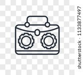 briefcase vector icon isolated...   Shutterstock .eps vector #1133877497