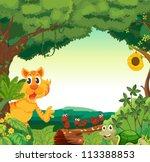 illustration of various animals ... | Shutterstock . vector #113388853