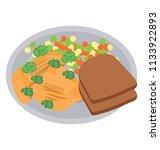 a healthy weight watcher diet...   Shutterstock .eps vector #1133922893
