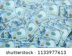 dollar bills or banknotes for... | Shutterstock . vector #1133977613