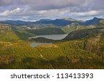 the trail to preikestolen.... | Shutterstock . vector #113413393