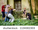 jasa tomic  vojvodina  serbia   ... | Shutterstock . vector #1134302303