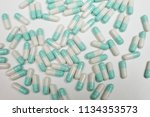 assorted pharmaceutical... | Shutterstock . vector #1134353573