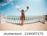 zaporozhye. ukraine. june 15.... | Shutterstock . vector #1134357173
