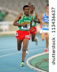 Small photo of BARCELONA - JULY,10: Yigrem Demelash of Ethiopia during 10000 Metres event of the 20th World Junior Athletics Championships at the Olympic Stadium on July 10, 2012 in Barcelona, Spain