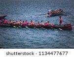 castro urdiales  spain   july... | Shutterstock . vector #1134477677