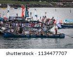 castro urdiales  spain   july... | Shutterstock . vector #1134477707