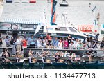 castro urdiales  spain   july... | Shutterstock . vector #1134477713