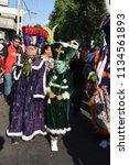 san pedro atocpan  mexico...   Shutterstock . vector #1134561893