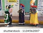 san pedro atocpan  mexico...   Shutterstock . vector #1134562007