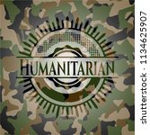 humanitarian on camouflage...   Shutterstock .eps vector #1134625907