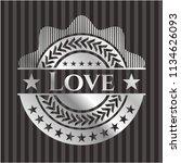love silver emblem   Shutterstock .eps vector #1134626093