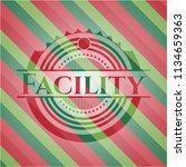 facility christmas emblem.   Shutterstock .eps vector #1134659363
