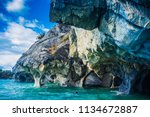 marble cathedral at puerto rio... | Shutterstock . vector #1134672887