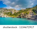 marble cathedral at puerto rio... | Shutterstock . vector #1134672917