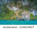 puerto rio tranquilo   aysen  ... | Shutterstock . vector #1134676817