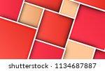 art design quadrans   Shutterstock . vector #1134687887