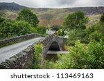Traditional Stone Bridge At...