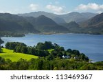 Panorama Of Derwentwater In...