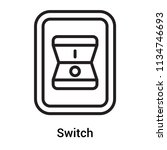 switch icon vector isolated on...   Shutterstock .eps vector #1134746693