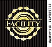 facility shiny emblem   Shutterstock .eps vector #1134895733
