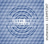 be the best version of you blue ... | Shutterstock .eps vector #1134957347