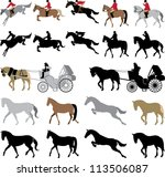 appaloosa,arabian horse,bridle,buggy,carriage,english saddle,foxhunt,horse,horse and buggy,jumping,reins,riding,silhouette,silhouette people,steeplechase