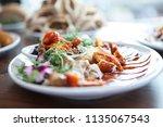 antipasti sharer platter | Shutterstock . vector #1135067543