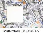 money background with black... | Shutterstock . vector #1135100177