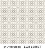 abstract geometric vintage... | Shutterstock .eps vector #1135165517