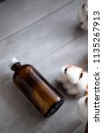 bottles with natural spa... | Shutterstock . vector #1135267913