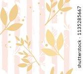 vector seamles floral pattern... | Shutterstock .eps vector #1135285667